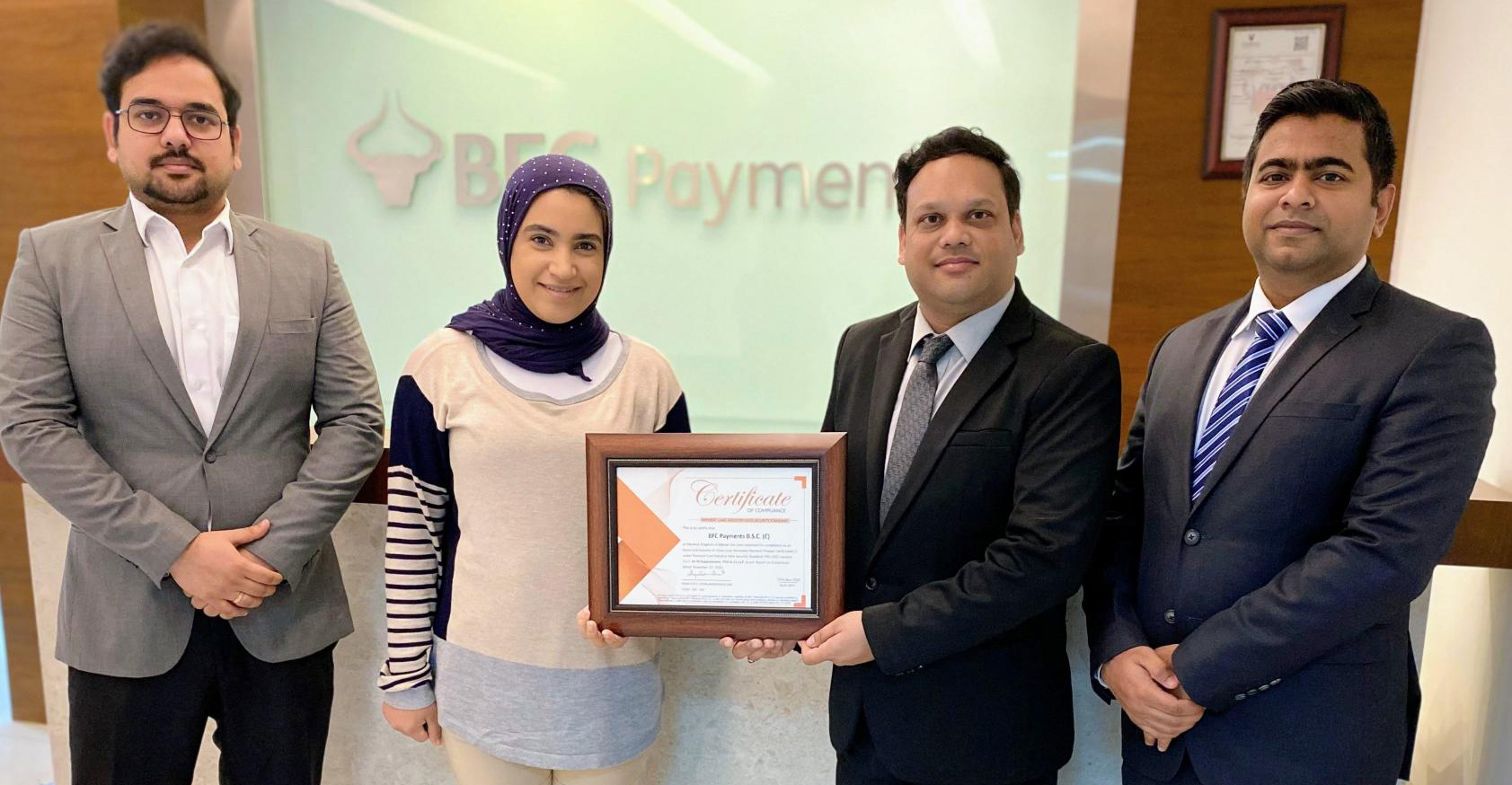 BFC Payments Receives PCI DSS Certification Ensuring Secure Payments for Customers